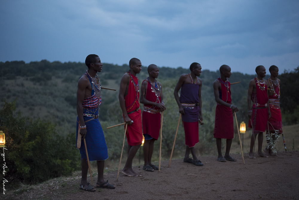 Maasai from a nearby village